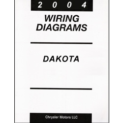Dodge 2004 Dakota HB Body Factory Wiring Diagrams on chrysler crossfire wiring diagram