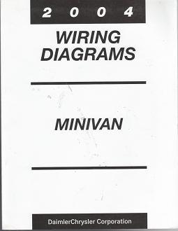 2004 Chrysler Town & Country / Dodge Caravan / Plymouh Voyager Wiring  DiagramsAuto Repair Manuals