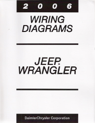 2006 Jeep Wrangler Factory Wiring Diagram Manual