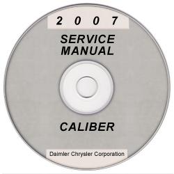 2007 dodge caliber service manual on cd rom. Black Bedroom Furniture Sets. Home Design Ideas
