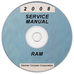 2008 dodge ram truck d1 dc dh dm dr service manual on cd. Black Bedroom Furniture Sets. Home Design Ideas
