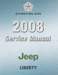 2008 jeep liberty kk service manual 4 volume set rh auto repair manuals com Libierty 2008 Jeep 2008 jeep liberty service manual pdf