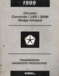 1999 Chrysler Concorde  Lhs  300m  U0026 Dodge Intrepid