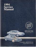 1994 buick park avenue and lesabre factory service manual