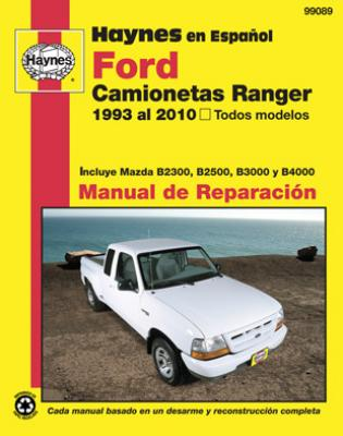 spanish language haynes manual de reparacion ranger