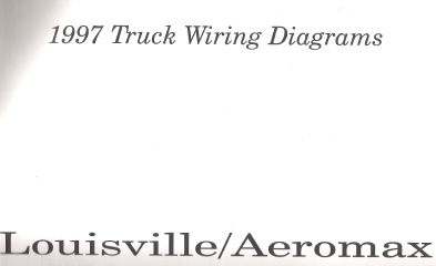 1997 Ford Louisville/Aeromax Phase I Truck Wiring Diagrams