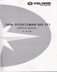 Manual 500 service 2006 polaris efi sportsman pdf