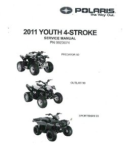 2011 Polaris Outlaw 50 Outlaw 90 Sportsman 90 Factory Service Manual