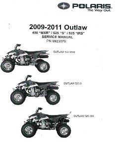 2009 2011 Polaris Outlaw 450s 525s Amp 525 Irs Factory border=
