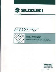 1996 1998 Suzuki Swift Factory Wiring Diagrams Manual