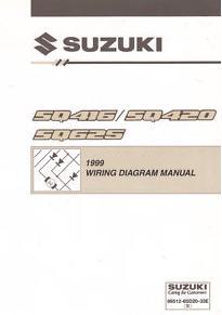 1999 Suzuki SQ416, SZ420 & SQ625 (Vitara, Grand Vitara ...
