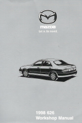 Mazda 1998 626 Factory Workshop Manual Softcover