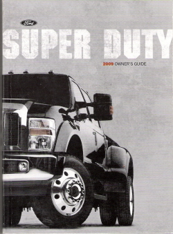 ford super duty    owners manual  case