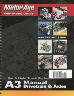 ase  automotive manual drivetrains  axles motorage test prep manual softcover