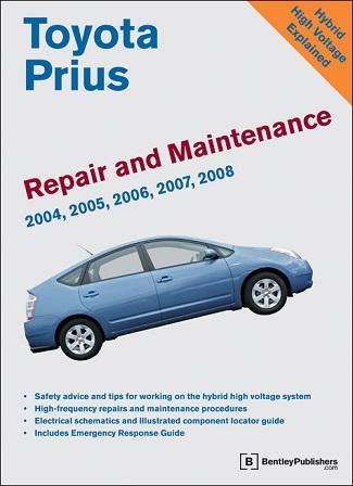 2004 - 2008 Toyota Prius Original Factory Repair and ...