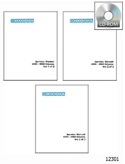 2004 honda odyssey service manual