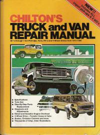 1973 1980 chilton truck   van repair manual Small Engine Rebuild Manuals Manual Car