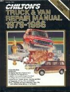 1979 1986 chilton s truck   van repair manual Service Manuals chilton heavy duty truck repair manual