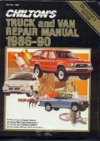 1986 1990 chilton s truck   van repair manual Service Manuals Service Manuals