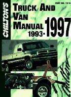 1993 1997 chilton s truck   van repair manual Manual Car chilton heavy duty truck repair manual