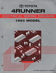 EWD158U  Toyota Runner Wiring Diagram on fuel pump, car stereo, ignition coil, tundra radio,