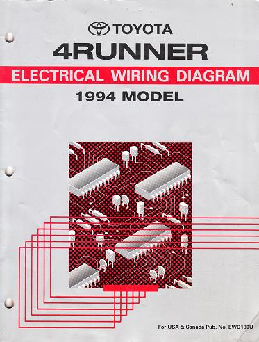 1994 toyota 4runner factory electrical wiring diagrams manual free auto electrical wiring diagrams toyota 4runner auto electrical wiring free tiutorials