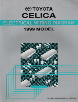 1997 Toyota RAV4 Electrical Wiring Diagram Manual