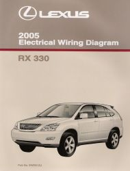 2005 Lexus RX 330 Electrical Wiring Diagram