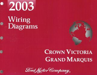 2003 Ford Crown Victoria Mercury Grand Marquis Wiring Diagrams