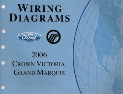 2006 ford crown victoria mercury grand marquis wiring. Black Bedroom Furniture Sets. Home Design Ideas