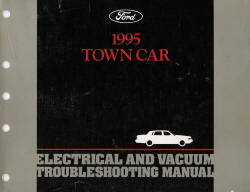 1995 lincoln town car electrical and vacuum troubleshooting manual 1995 lincoln town car manual pdf 1996 Lincoln Town Car