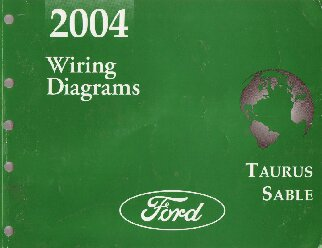 2004 ford taurus mercury sable factory wiring diagrams. Black Bedroom Furniture Sets. Home Design Ideas