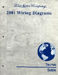 2001 Ford Taurus Amp Mercury Sable Wiring Diagrams