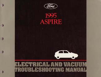 1995 ford aspire electrical and vacuum troubleshooting manual. Black Bedroom Furniture Sets. Home Design Ideas