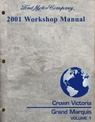 2001 ford crown victoria mercury grand marquis workshop. Black Bedroom Furniture Sets. Home Design Ideas