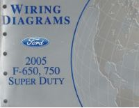 2005 Ford    F650     750    Super       Duty        Wiring       Diagrams