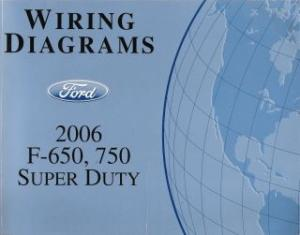 2006 ford f 650 f 750 super duty wiring diagrams rh auto repair manuals com