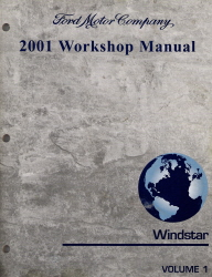 2001 ford windstar factory workshop manual 2 vol set. Black Bedroom Furniture Sets. Home Design Ideas
