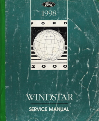ford windstar service manual