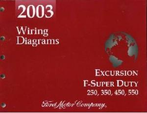 FCS1225403 2003 ford excursion, f250, f350, f450, f550 & f super duty truck 2003 ford super duty wiring diagram at crackthecode.co