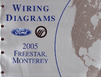2005 ford star mercury monterey wiring diagrams
