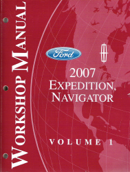 2007 ford expedition lincoln navigator factory workshop. Black Bedroom Furniture Sets. Home Design Ideas