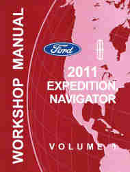lincoln factory service manuals