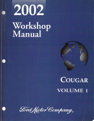 2000 Mercury Cougar Service Manual http://www.auto-repair-manuals.com/2002-Mercury-Cougar-Factory-Workshop-Manual.html