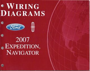 2007 ford expedition & lincoln navigator wiring diagrams 1999 lincoln town car wiring diagram 2007 lincoln navigator wiring diagram #45