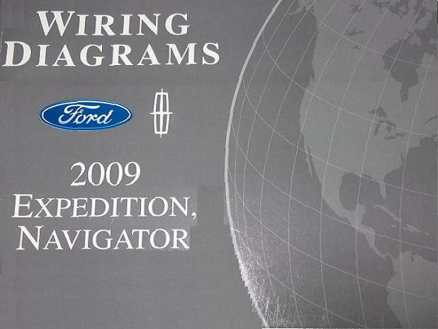 2009 Ford Expedition And Lincoln Navigator Factory Wiring
