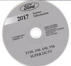 2017 ford f250 f350 f450 f550 f super duty factory. Black Bedroom Furniture Sets. Home Design Ideas