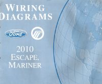 2010 Ford Escape and Mercury Mariner Factory Wiring Diagrams