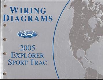 2005 Ford Explorer Sport Trac- Wiring Diagram