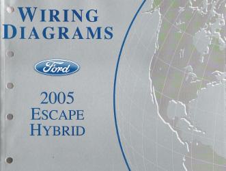 2005 Ford Escape Hybrid - Wiring Diagrams